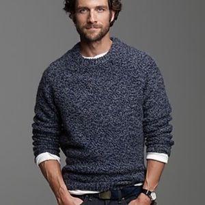 Men's J. Crew Pullover Sweater Wool Alpaca Medium